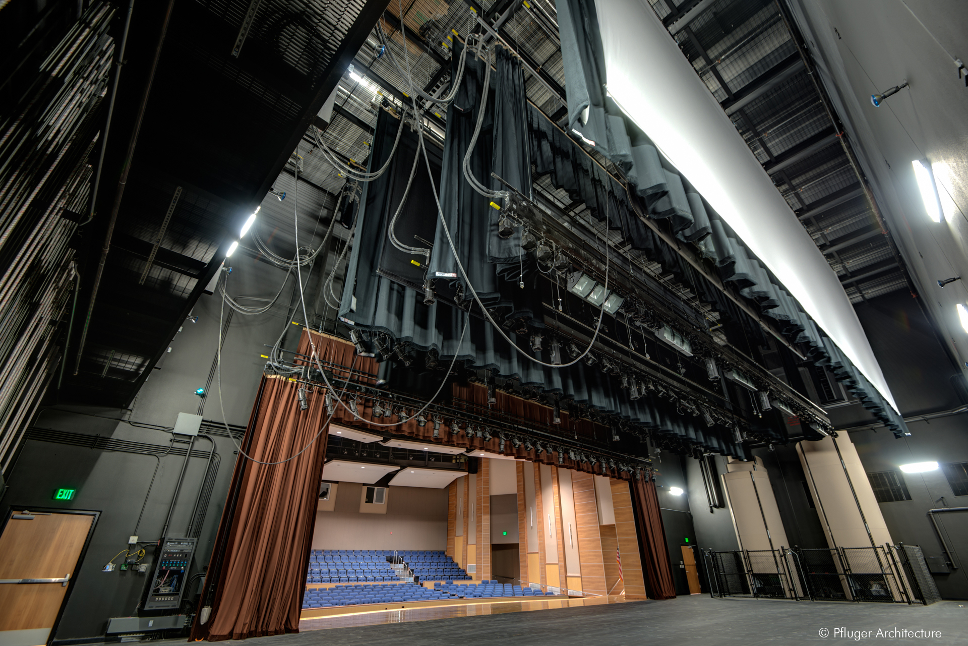 Leander ISD Tom Glenn High School Performing Arts Center