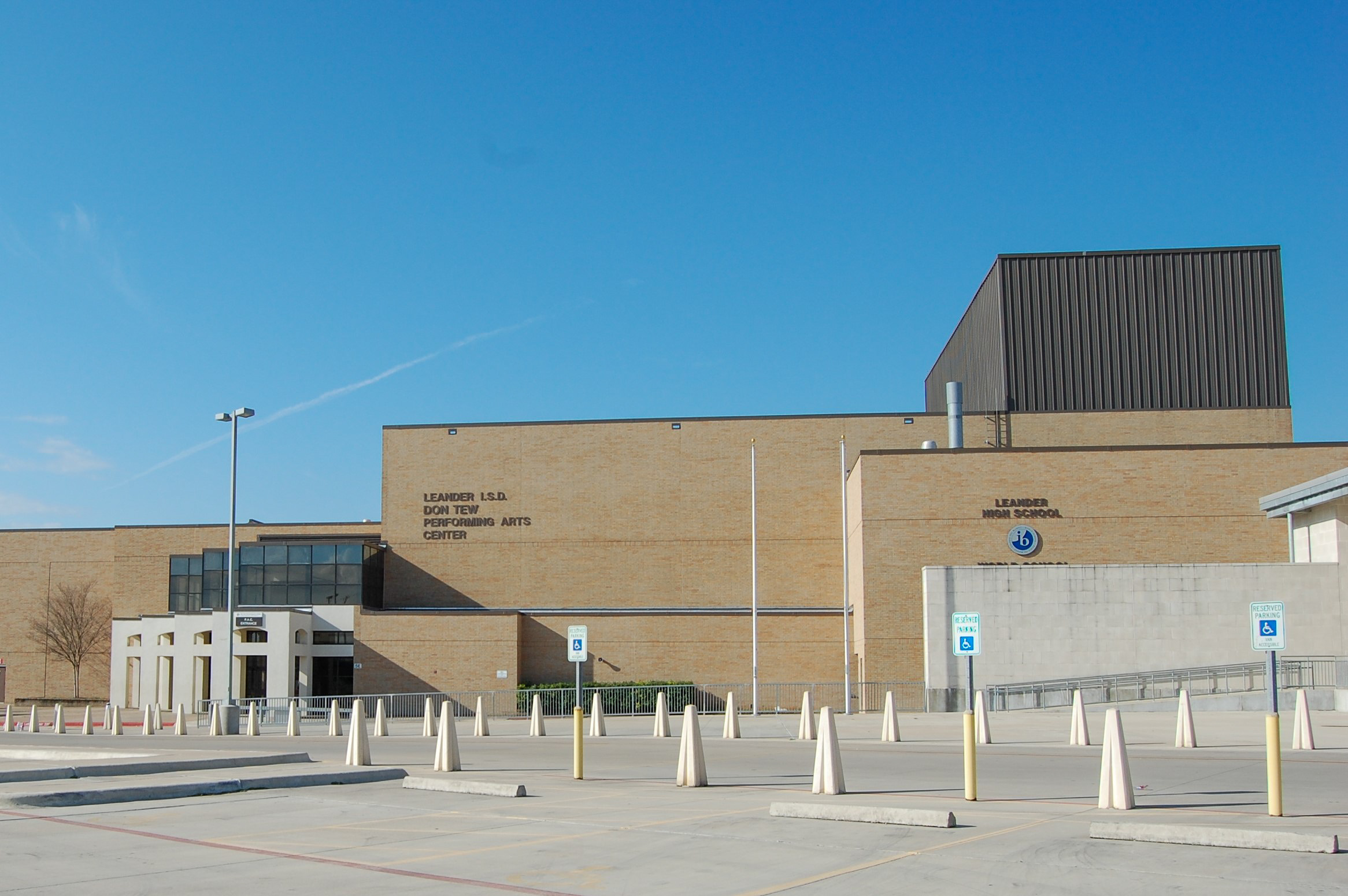 Leander ISD Leander High School Performing Arts Center